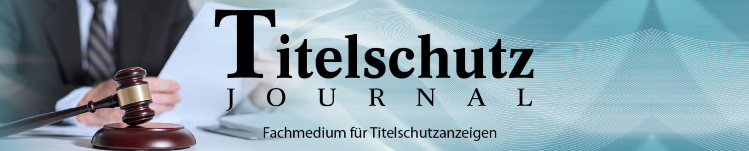 rundy Titelschutz Journal